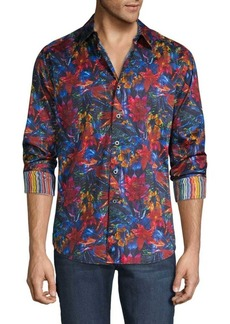 Robert Graham Classic-Fit Floral Shirt