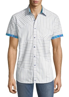 Robert Graham Classic-Fit Gatestreet Short-Sleeve Sport Shirt