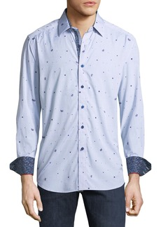 Robert Graham Classic Fit Genesee River Jacquard Sport Shirt