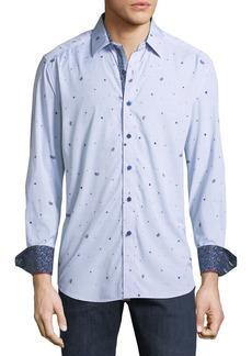 Robert Graham Classic Fit Genesee River Jacquard Sport Shirt