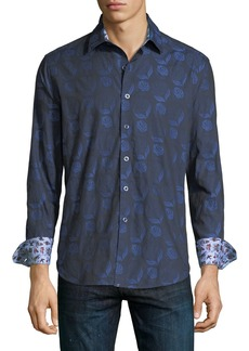 Robert Graham Classic-Fit Hidden View Sport Shirt