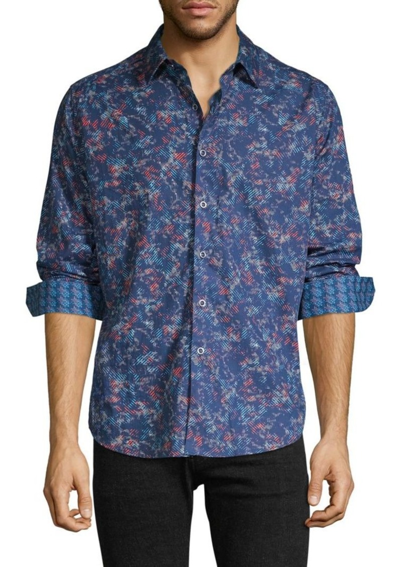 Robert Graham Classic-Fit Jacquard Shirt