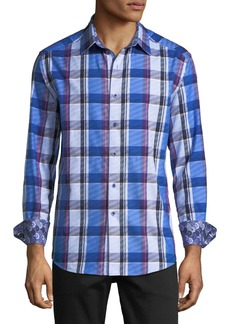 Robert Graham Classic-Fit Prevost Plaid Sport Shirt