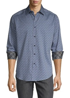 Robert Graham Classic-Fit Printed Long-Sleeve Shirt