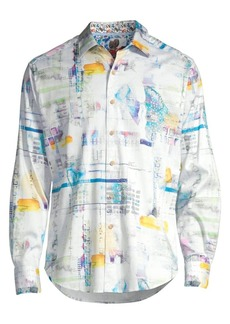 Robert Graham Classic-Fit Stagecoach Print Shirt
