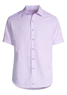 Robert Graham Classic-Fit Temple Of Skull Short-Sleeve Shirt