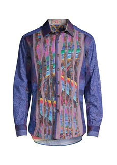 Robert Graham Classic-Fit The Osta Psychedelic Multi-Print Shirt