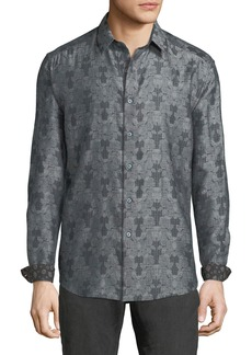Robert Graham Classic-Fit Watkins Glen Floral Sport Shirt