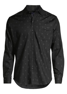 Robert Graham Classic-Fit Wilshire Skull Graphic Shirt