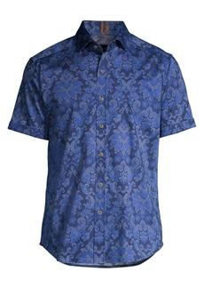 Robert Graham Classic-Fit Wrights Floral Shirt