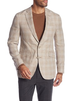 Robert Graham Clooney Plaid Tailored Fit Sportcoat