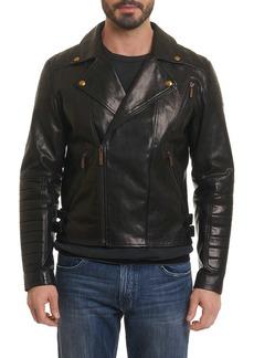 Robert Graham Colter Leather Biker Jacket