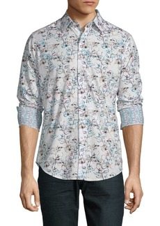 Robert Graham Colwyn Floral Button-Down Shirt