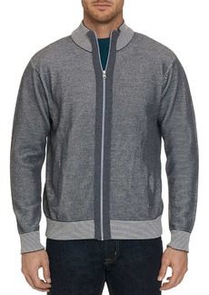 Robert Graham Conboy Front Zip Sweater