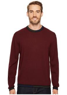 Robert Graham Cooperstown Long Sleeve Sweater Crew Neck