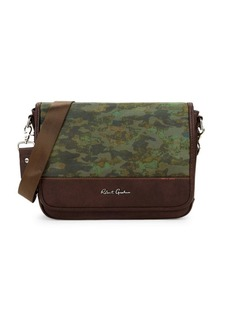 Robert Graham Cormac Camo Messenger Bag