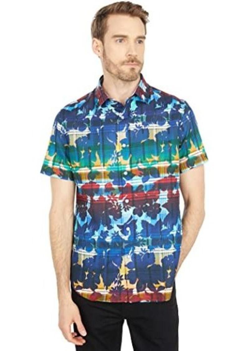 Robert Graham Cul de Sac Short Sleeve Woven Shirt