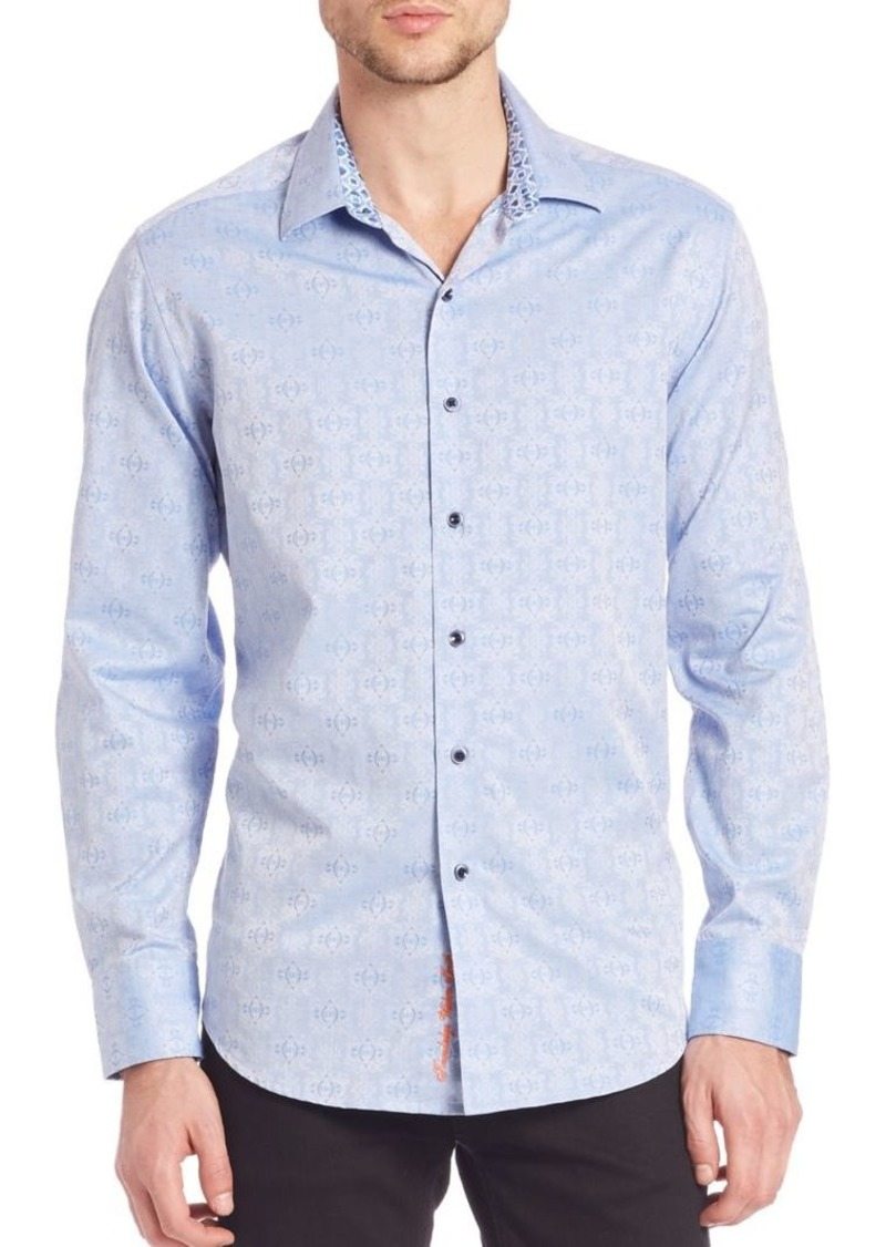 Robert Graham Cullen Cotton Button-Down Shirt