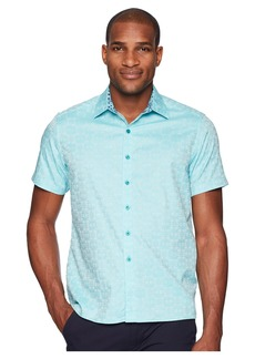 Robert Graham Cullen Squared Short Sleeve Woven Shirt