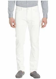 Robert Graham Curtis Stretch Denim Jeans in White