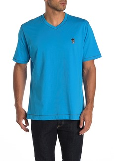 Robert Graham Damien Short Sleeve V-Neck T-shirt