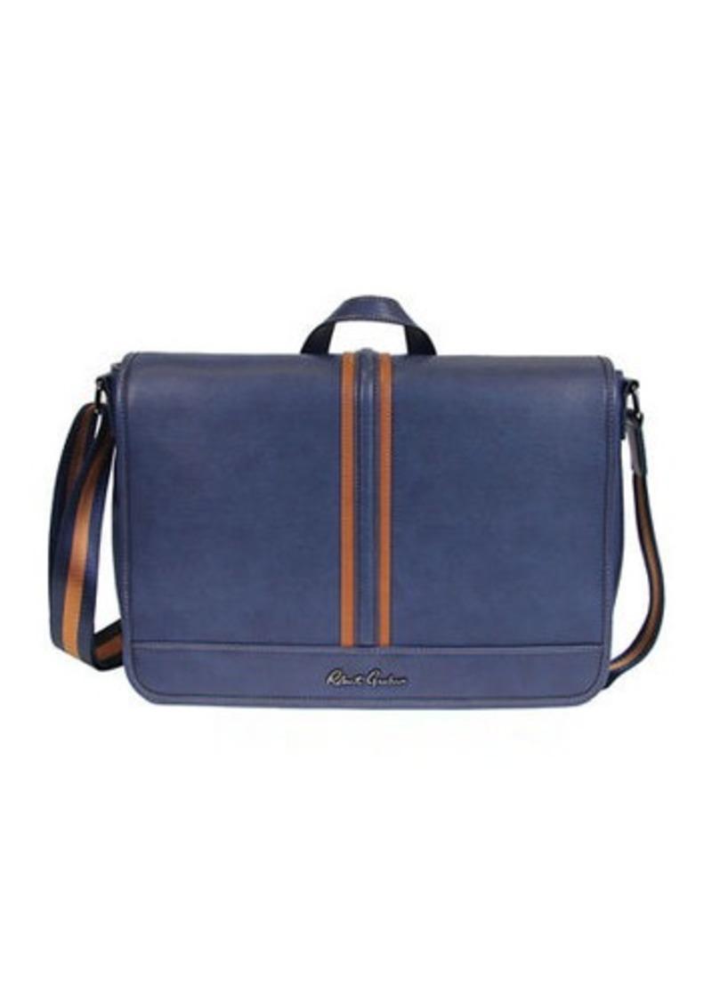 Robert Graham Danielstown Faux Leather Messenger Bag