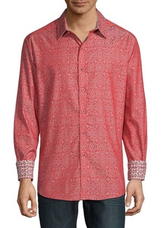 Robert Graham Danvers Print Long Sleeve Shirt