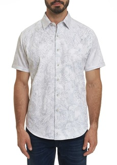 Robert Graham Dragon Fire Short Sleeve Shirt
