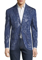 Robert Graham Dwight Floral-Jacquard Woven Sport Coat
