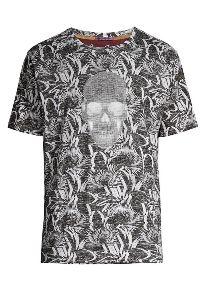 Robert Graham Empire Skull Graphic T-Shirt