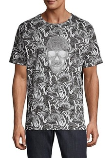 Robert Graham Empire Skull Graphic T-Shirt