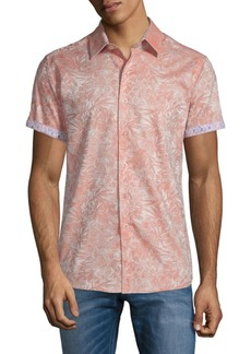 Robert Graham Fallen Oaks Cotton Button-Down Shirt