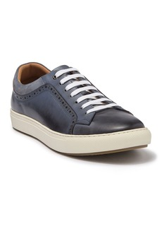 Robert Graham Farina Brogued Leather Sneaker