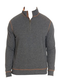 Robert Graham Firth Jacquard Zip Pullover