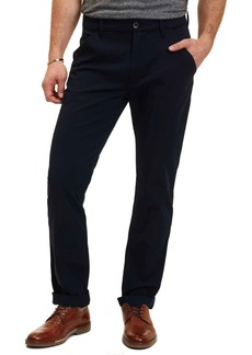 Robert Graham Tailored Fit Solid Flat Front Pants