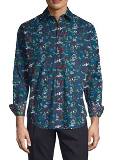 Robert Graham Floral Button-Down Shirt