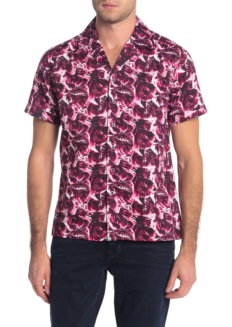Robert Graham Floral Lane Short Sleeve Classic Fit Shirt