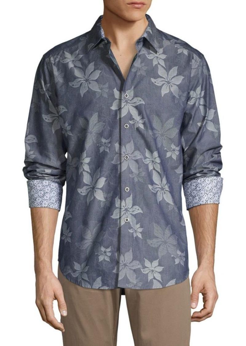 Robert Graham Floral Long-Sleeve Shirt