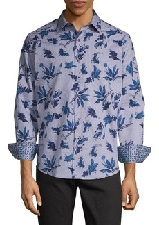 Robert Graham Floral-Print Button-Down Shirt