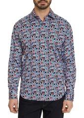 Robert Graham Francesco Classic-Fit Multi-Print Sport Shirt