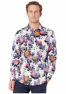 Robert Graham Front Runner Button-Up Shirt