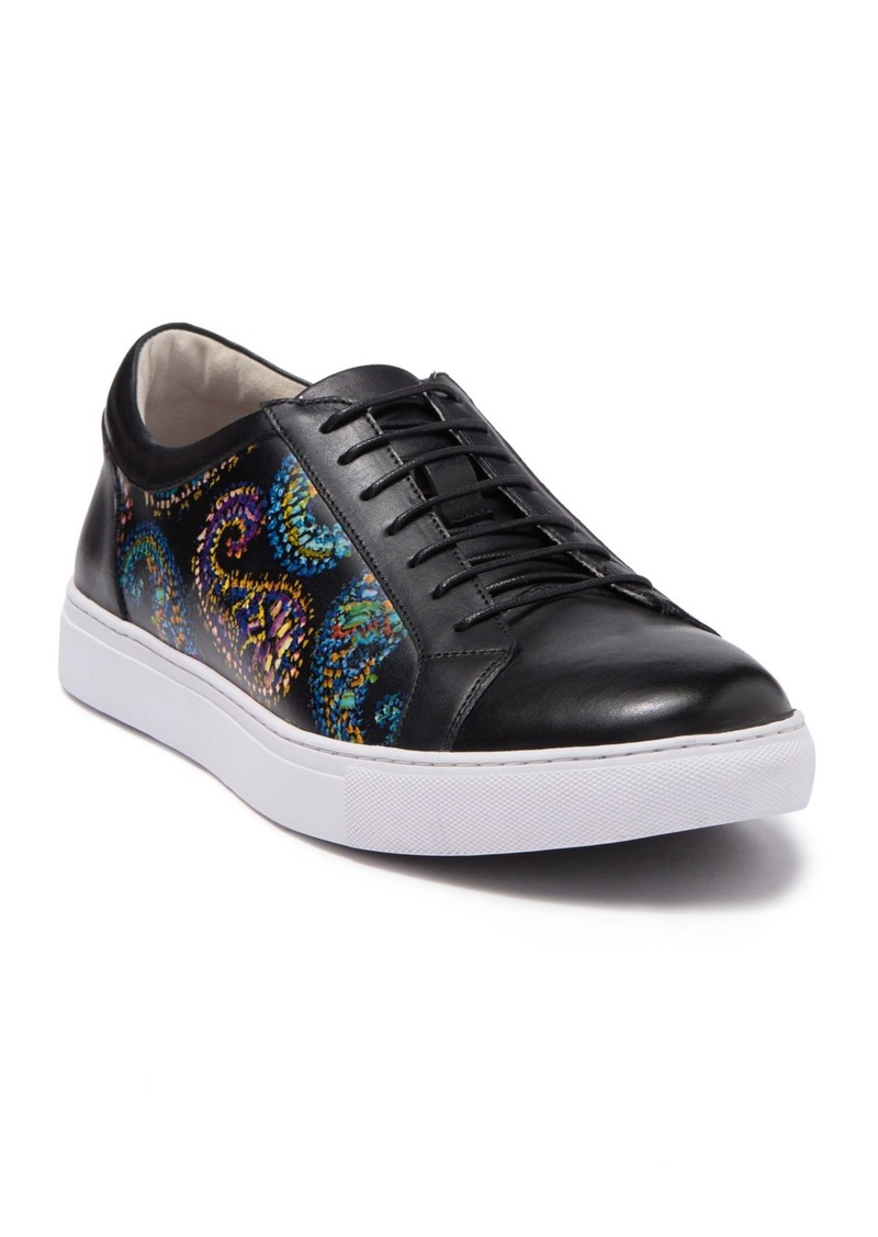 Robert Graham Front Runner Leather Sneaker