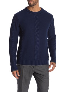 Robert Graham Fulton Crew Neck Knit Sweater