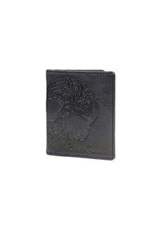 Robert Graham Fuselage Paisley-Embossed Magnetic Flip Leather Card Case