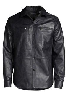 Robert Graham Gable Leather Jacket
