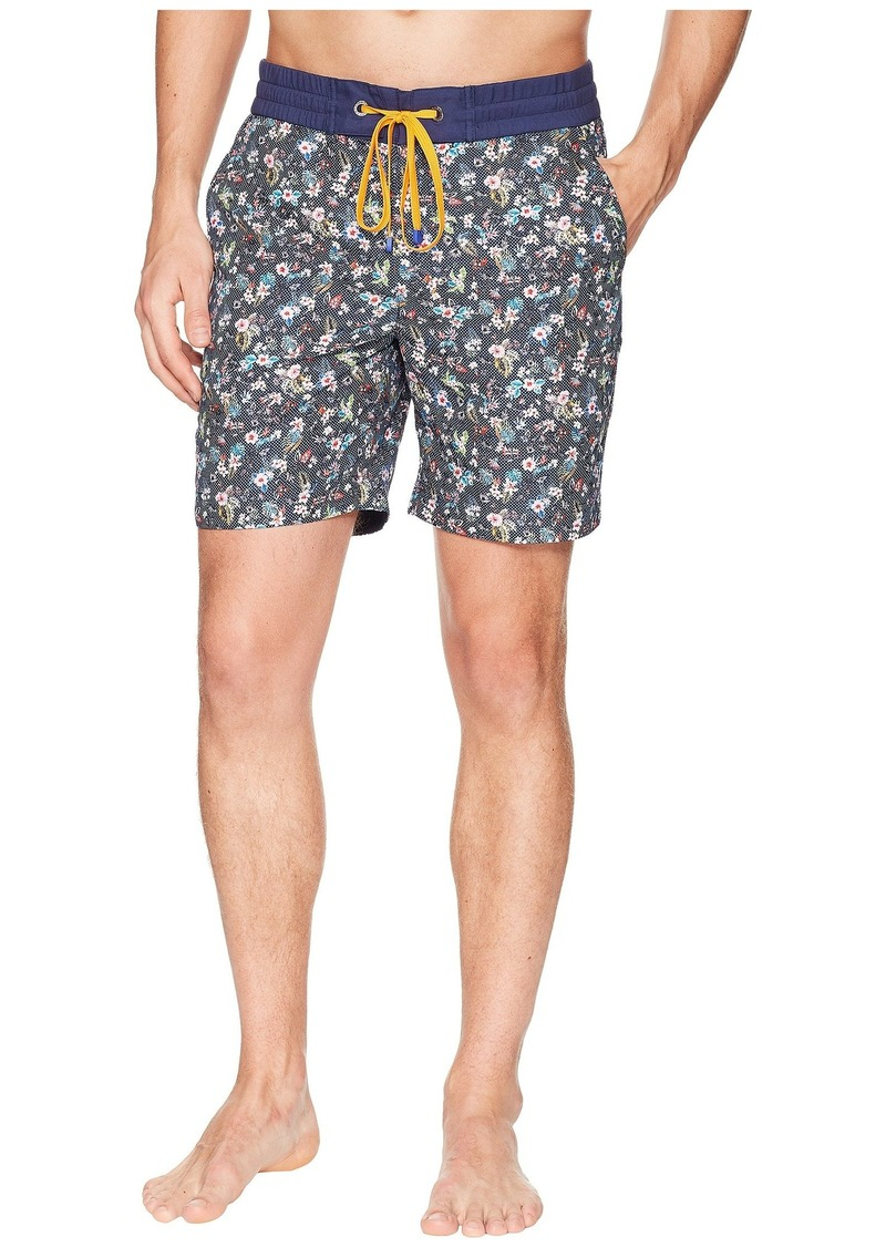 4bee5152a0 Robert Graham Gali Woven Swim Trunk   Swimwear