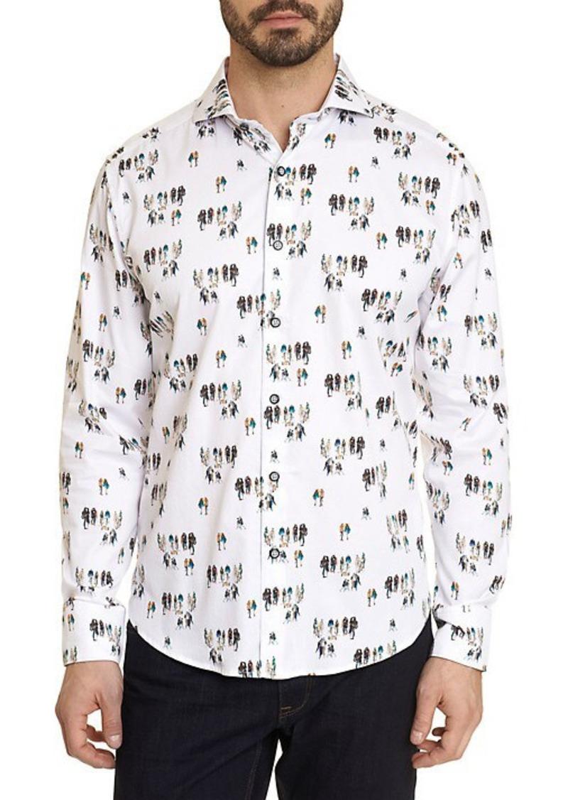 Robert Graham Gallery Nights Printed Shirt