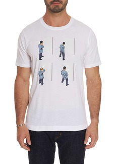 Robert Graham Glass Art Tee Shirt