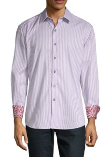 Robert Graham Goodale Printed Button-Down Shirt