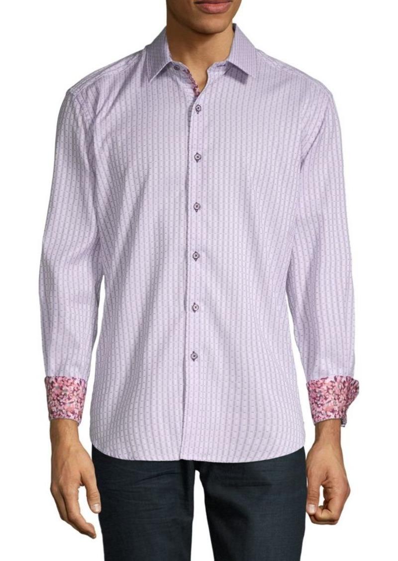 Robert Graham Goodale Printed Button-Down Shirt